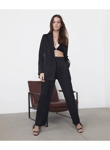 Ipekyol Kadın  Pantolon IS1200003056 Siyah